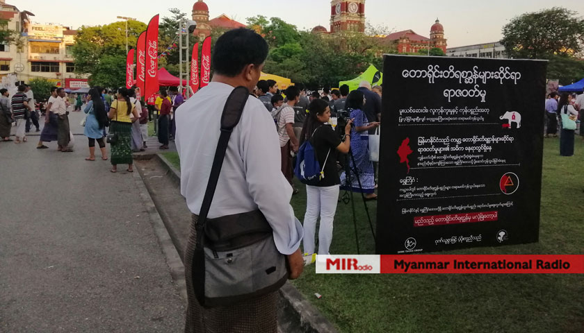 Voices for Wildlife Festival in Yangon to celebrate the
